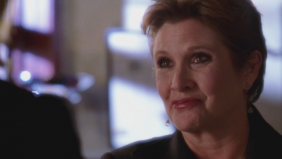 "Carrie Fisher guest-stars in ""Thirst"""