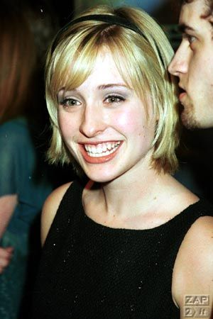 Allison Mack - Press Tour Pic