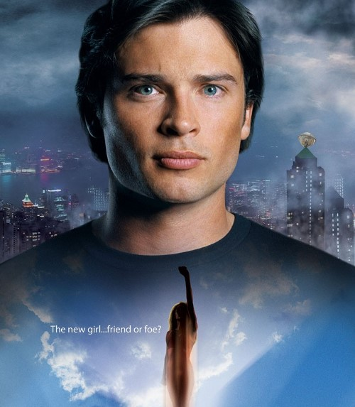 Smallville Season 7 poster with Clark and Kara
