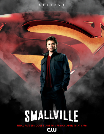 Smallville: Final Five Episodes Start Tonight!