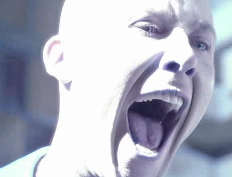 "Picture of Lex screaming from ""Memoria"""