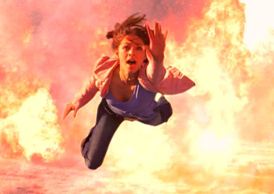 "Picture of Lana getting blown up from ""Obscura"""