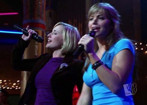 "Chloe and Lois singing karaoke from ""Pariah"""