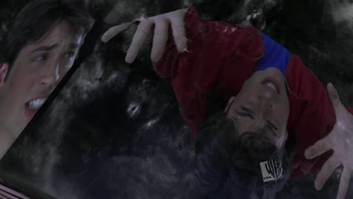 """Vessel"" picture of Clark trapped in Phantom Zone"
