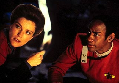 picture of Janeway and Tuvok