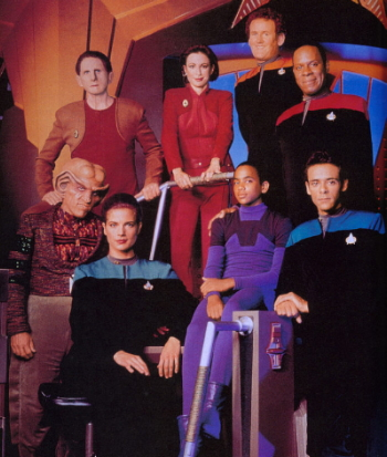 Star Trek: Deep Space 9 cast pic