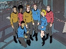 Star Trek animated cast