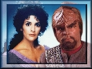 Commander Worf and Troi