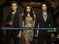 small pic of Stefan, Katherine and Damon