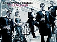 small pic of The Mikaelson siblings Elijah, Finn, Niklaus, Kol, and Rebekah