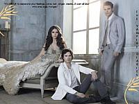 small pic of Stefan, Elena and Damon